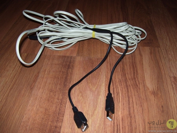 روش بلند تر کردن کابل USB