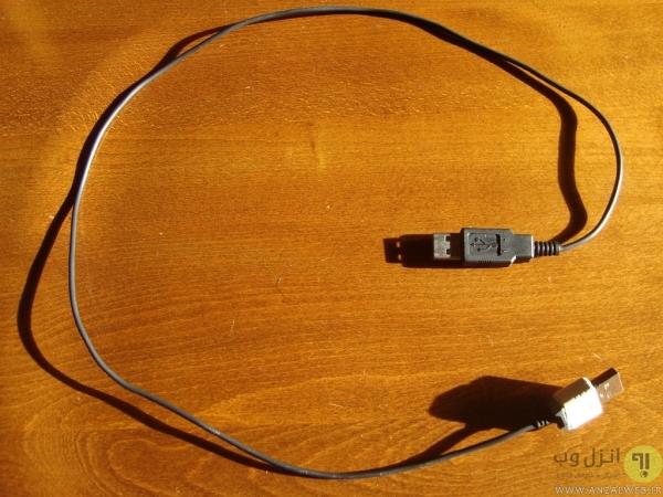 روش ساخت کابل افزایش طول USB دو سر نر