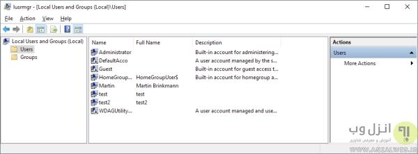 آموزش وارد شدن به Administrator ویندوز 8 و.. با سایر روش ها