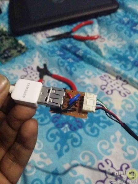 روش ساخت کابل افزایش طول USB 5 متری