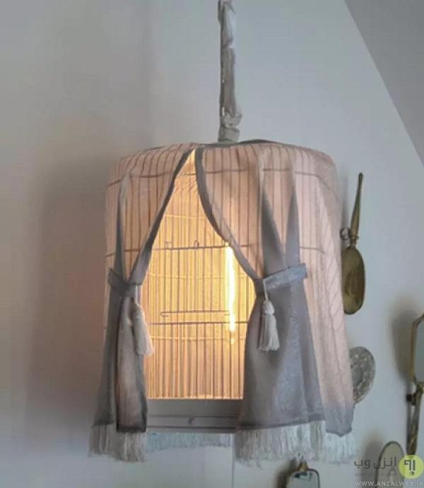 ساخت چراغ خواب با شیشه مربا