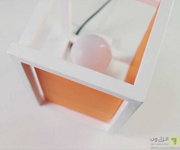 ساخت چراغ خواب با ال ای دی