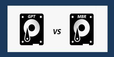 تفاوت بین MBR و GPT در هنگام پارتیشن بندی هارد درایو چیست؟