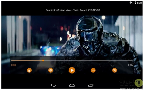 VLC، ویدیو پلیر سبک اندروید