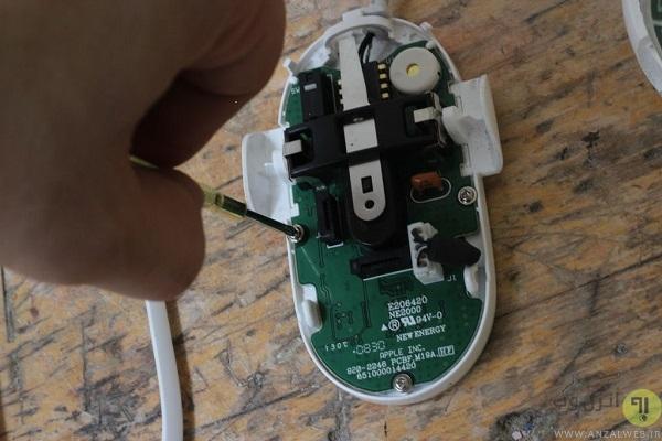 آموزش تعمیر موس کامپیوتر