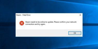 رفع ارور Fatal Error در Steam و بازی ویندوز 10 ، 8 و 7