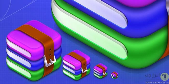 ادغام و چسباندن دو یا چند فایل RAR