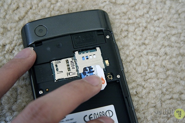 علت سیاه و سفید شدن صفحه گوشی سامسونگ