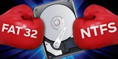 تفاوت بین FAT32 و NTFS چیست؟ کدام یک مناسب درایو شما است؟