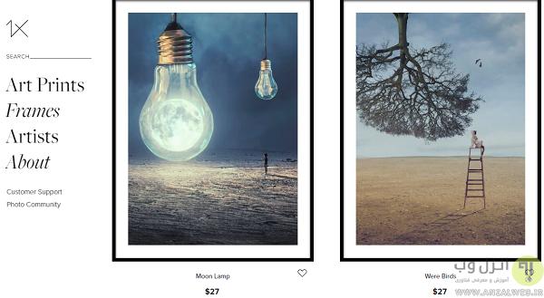 سایت های معتبر عکاسی جهان
