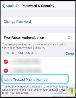 حل مشکل پیغام your apple id has been disabled