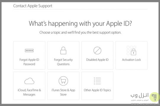 your apple id has been disabled چه کنیم