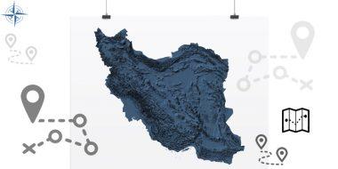 9 تا از بهترین نقشه های بومی و جهانی ایران آنلاین