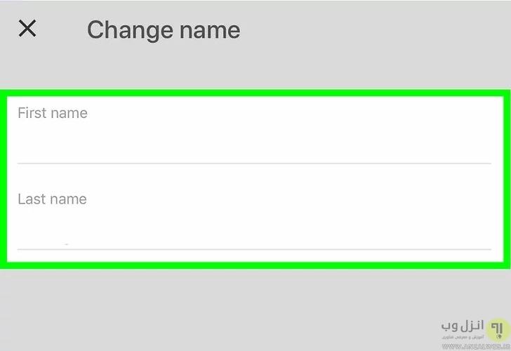 %آموزش تغییر نام و نام خانوادگی در جیمیل