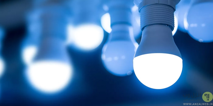 حل مشکل چشمک زدن لامپ کم مصرف و LED