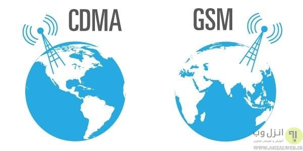 تکنولوژی GSM و CDMA در زمینه رومینگ