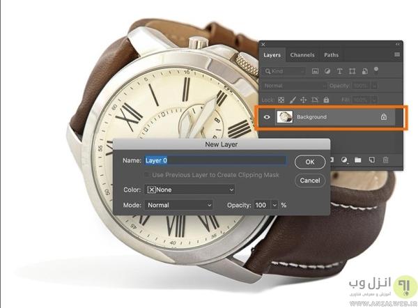 روش دیگر شفاف کردن پس زمینه و ساخت عکس PNG در فتوشاپ برای عکس های زمینه ساده