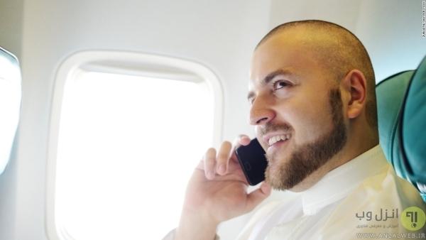 استفاده از سیگنال های مخابراتی در هواپیما