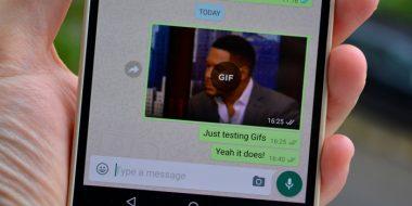 ارسال گیف در واتساپ اندروید و آیفون (Whatsapp)