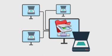 اشتراک گذاری اسکنر در شبکه بین دو یا چند کامپیوتر