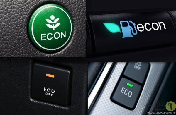 حالت اکو در خودرو ها، دکمه ECON در خودرو
