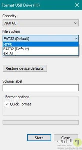 روش رفع مشکل کپی نشدن فایل روی هارد اکسترنال و فلش مموری در ویندوز