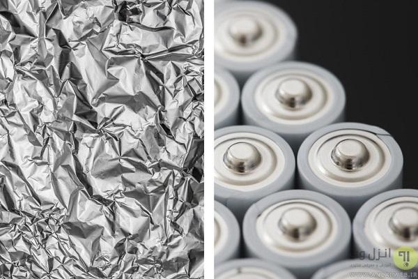 طرز استفاده از فویل آلومینیومی