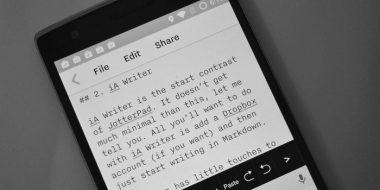 بهترین نرم افزار ویرایش متن اندروید