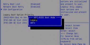 UEFI چیست؟ بررسی تفاوت UEFI ، BIOS و Legacy Mode