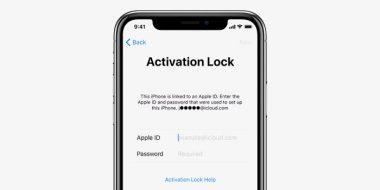 رفع مشکل پیغام Activation Lock در آیفون