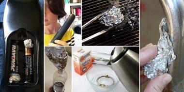 کاربرد جالب و خلاقانه از فویل آلومینیومی در خانه!