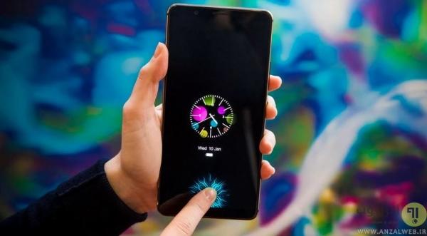 حسگر اثر انگشت زیر صفحه نمایش چیست؟