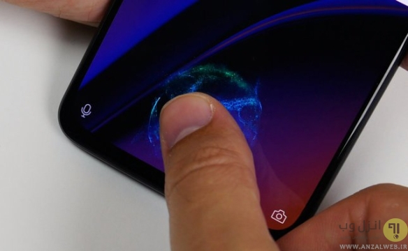 روش کار اسکنر اثر انگشت زیر صفحه نمایش