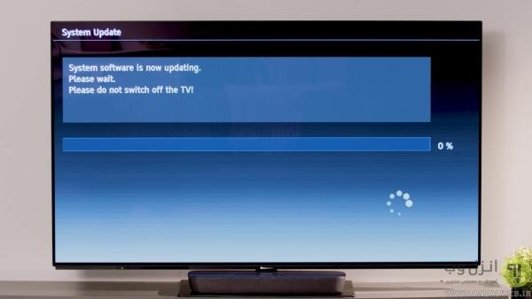 آپدیت کردن فریمور در تلویزیون