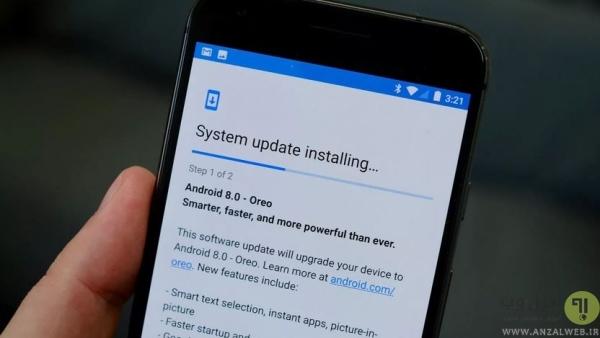 روش حل مشکل RH 01 گوگل پلی اندروید با آپدیت کردن سیستم عامل گوشی