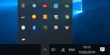 حذف شدن آیکون باتری لپ تاپ در ویندوز 10 ، 8 و 7