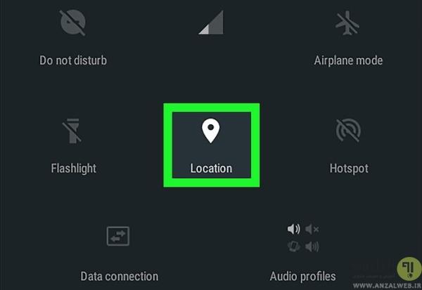 خاموش و روشن کردن جی پی اس برای حل مشکل No GPS در ویز