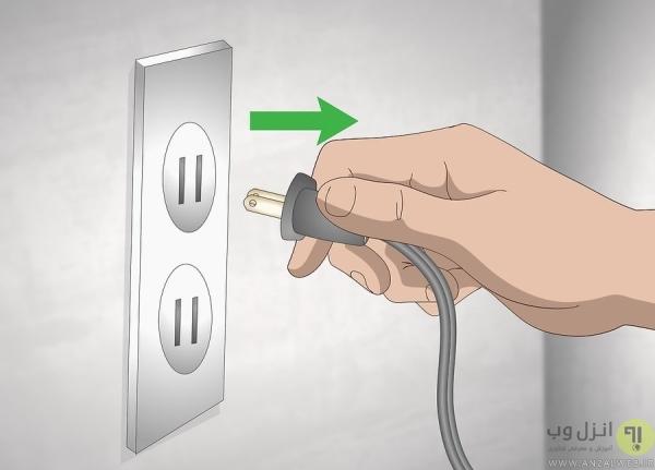 آماده کردن سیم برق برای اتصال به روش اصولی
