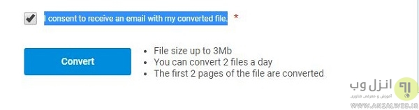 آموزش تبدیل فایل pdf به dwg