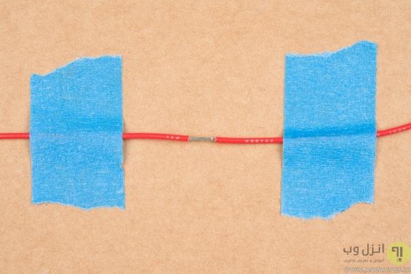 اتصال سیم برق با لحیم کاری، روش بستن سیم برق لوستر ، کولر آبی و..
