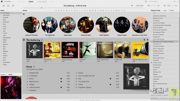 بهترین موزیک پلیر ویندوز 10