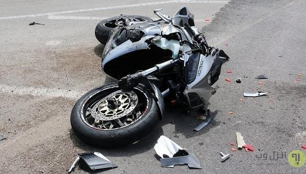 خسارت موتور سیکلت نوعی کلاهبرداری در سفر