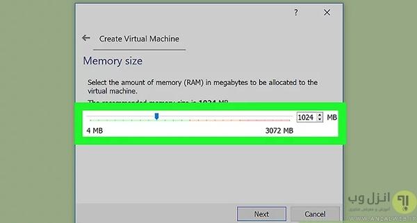 نصب ویندوز 10 در VirtualBox