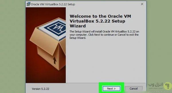 آموزش نصب ویندوز در virtualbox