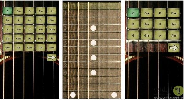 Virtual Guitar شبیه سازی به سبک اندروید
