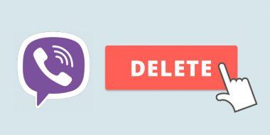 آموزش کامل تصویری حذف اکانت وایبر در اندروید و آیفون