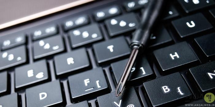 رفع مشکل غیرفعال شدن و کار نکردن کیبورد لپ تاپ