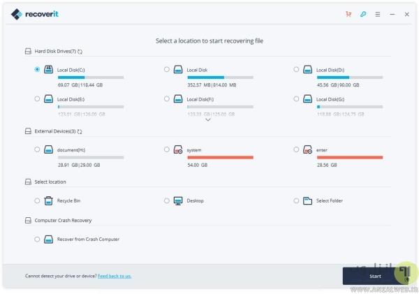 ریکاوری پاورپوینت پاک شده با نرم افزار Recoverit (برگرداندن فایل پاورپوینت ذخیره نشده 2016 و..)