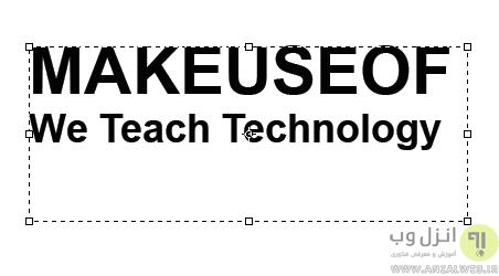 آموزش طراحی متن در فتوشاپ