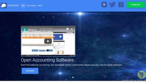 دانلود رایگان نرم افزار حسابداری ساده برای مغازه TurboCASH